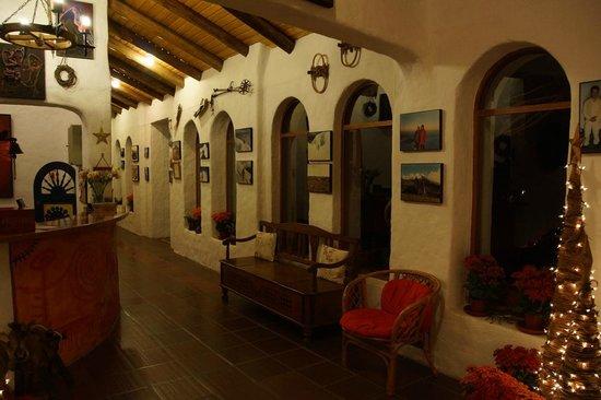 Pantavi Hosteria & Spa: reception