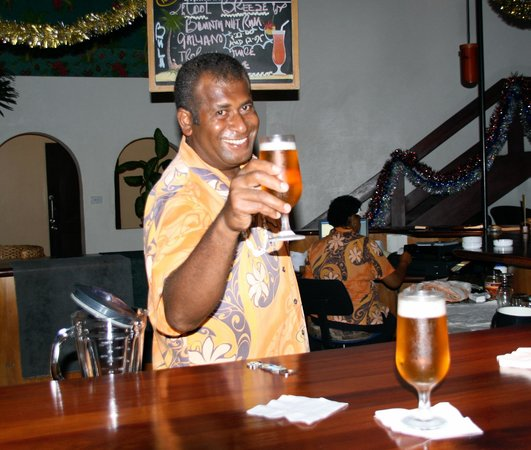 Bedarra Beach Inn: Cheers!
