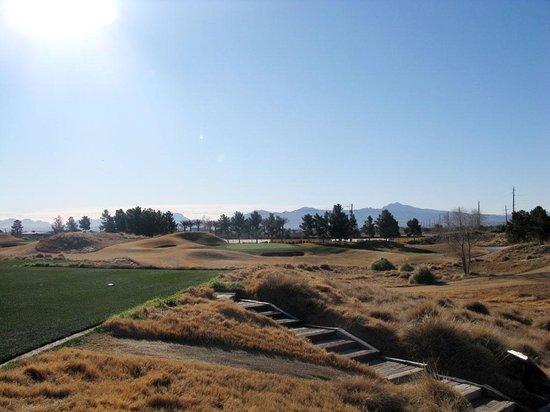 Royal Links Golf Club : no fairways in site.
