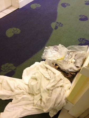 Hotel Indigo Miami Lakes: two days of towels and garbage