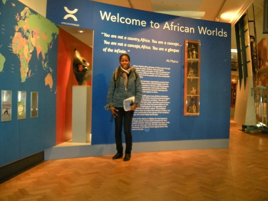 Horniman Museum and Gardens: Entrance to the African exhibit