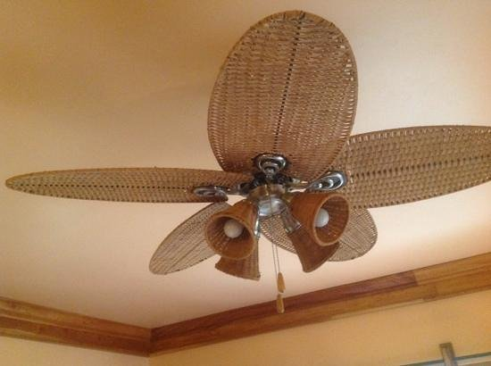 The SPA Retreat Boutique Hotel: loved the fan!
