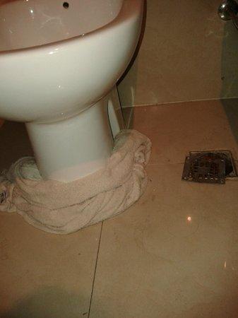 Argentina Tango Hotel: Inundación en el baño!