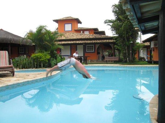Pousada El Rinconcito: piscina