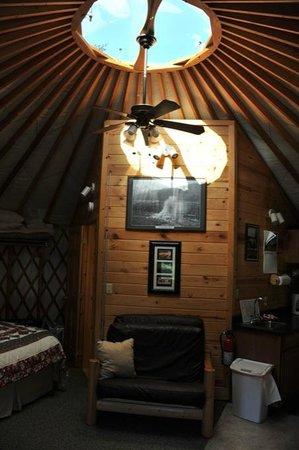 Sourdough Sue's Yurts: excellent et atypique