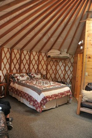 Sourdough Sue's Yurts: excellent et atypique