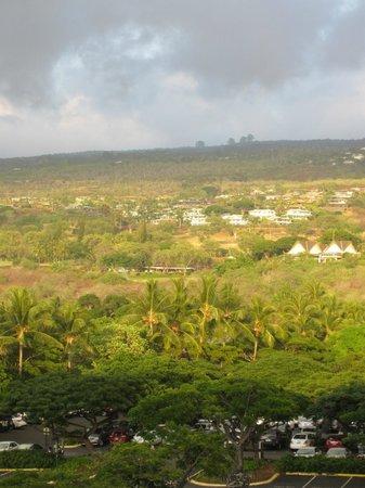 Sheraton Kona Resort & Spa at Keauhou Bay: View #2 from partial ocean room room on 4th floor.