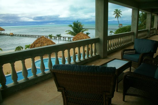 Hol Chan Reef Villas: View from the large deck