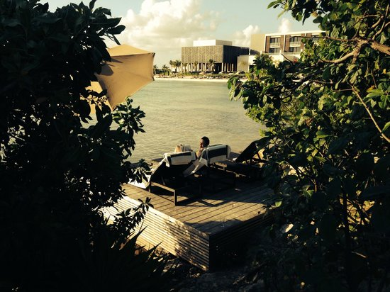 NIZUC Resort and Spa: can't think of a nicer place to sit and relax