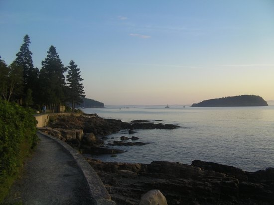 Shore Path: Early morning in Bar Harbor