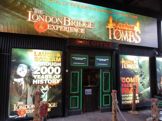 The London Bridge Experience: London Bridge Experience and London Tombs