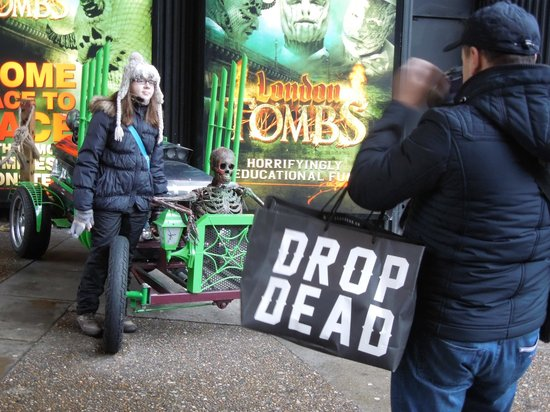 The London Bridge Experience: Drop Dead indeed!