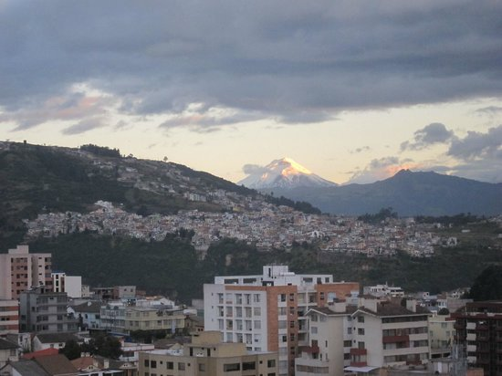 Swissotel Quito: View from the Swissotel room