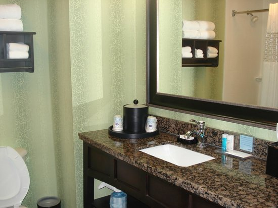 Hampton Inn St. Simons Island: Lovely bathroom