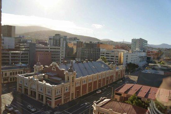 Grand Chancellor Hotel Hobart : マウンテンサイドからの眺め