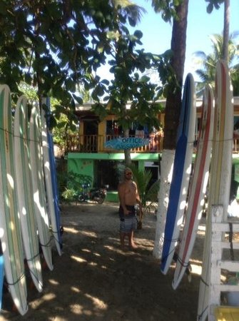 Pato's Surf School: new look