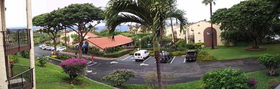Aston Maui Hill : Panoramic view from our lanai