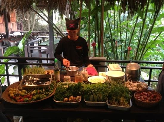 Tamarind Cooking Courses: woderful setting, great chef, memorable meal