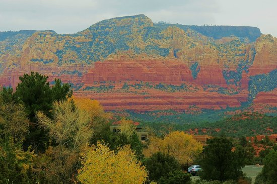 BEST WESTERN PLUS Inn of Sedona: Closeup of view from patio