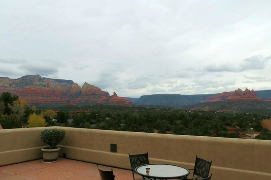 BEST WESTERN PLUS Inn of Sedona: View from our patio