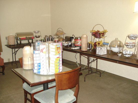Hampton Inn Beaufort : Breakfast room 1