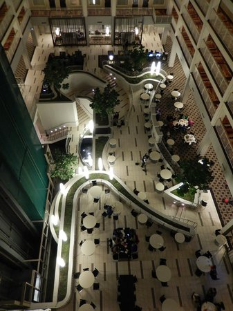 Embassy Suites by Hilton Chicago Downtown: The lobby from above