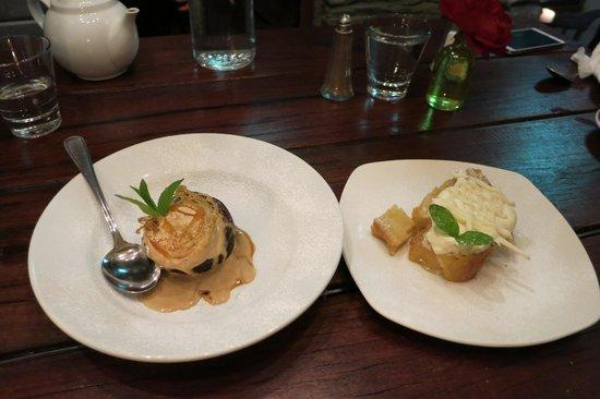 Stables Restaurant & Wine Bar: desserts