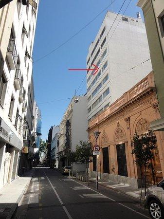 Centuria Hotel Buenos Aires: rua