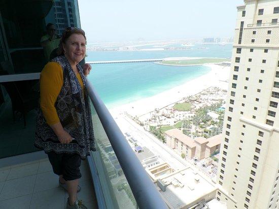 JA Oasis Beach Tower: Balcony View