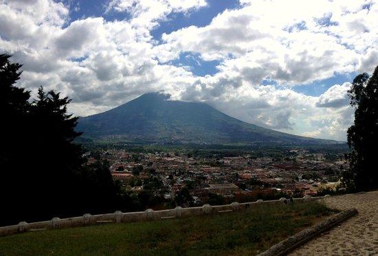 Cerro de la Cruz: The view