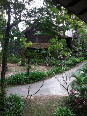 Vivanta by Taj Rebak Island, Langkawi: Walk way to hotel room