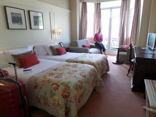 Hotel de Londres y de Inglaterra: Room