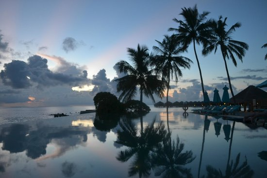 Anantara Veli Maldives Resort : The infinity pool