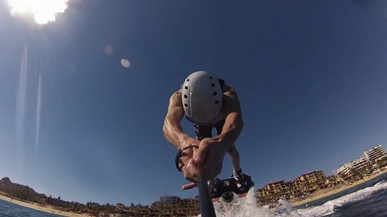 Cabo FlyBoard : Front dive