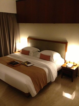The Magani Hotel and Spa: Standard room with a king sized bed