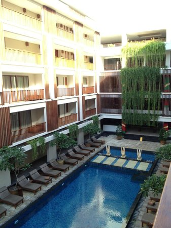 The Magani Hotel and Spa: View from room balcony
