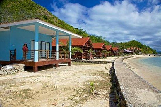 El Rio y Mar Resort : Outside our Caribbean Cabana #5