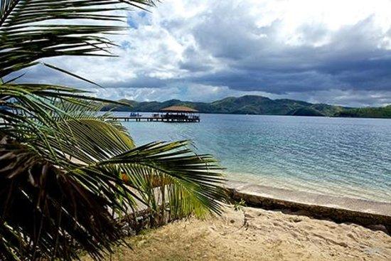 El Rio y Mar Resort : View from cabana #5