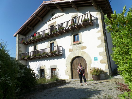 Hotel Akerreta: Outside the Hotel