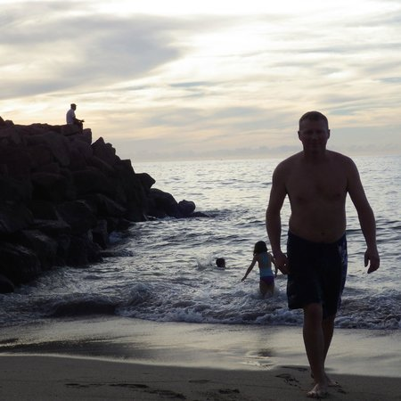 Plaza Pelicanos Grand Beach Resort : beach