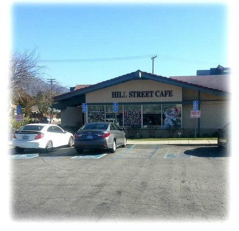 Hill Street Cafe: Restaurant Facade