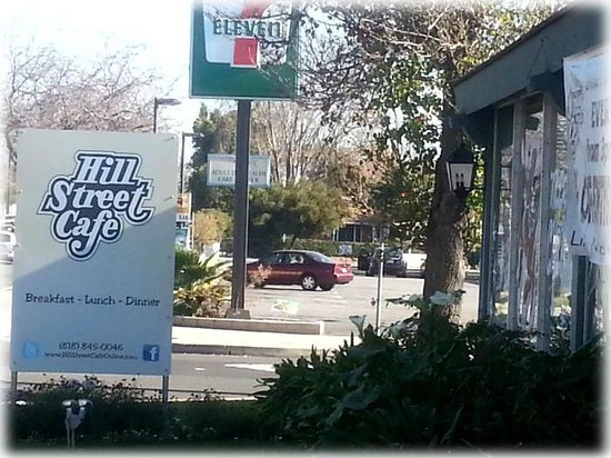 Hill Street Cafe: Restaurant Front Signage
