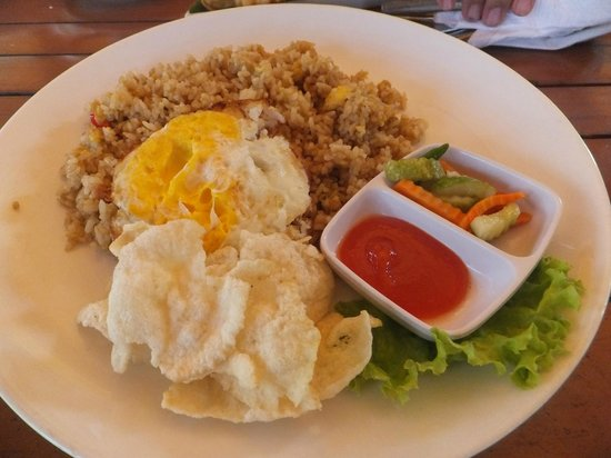 Sindang Reret Hotel and Restaurant: Idonesian local Fried Rice