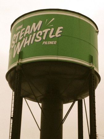 Steam Whistle Brewery: Enterance