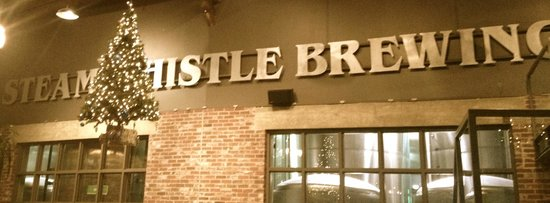 Steam Whistle Brewery: Winter Holiday Decorations