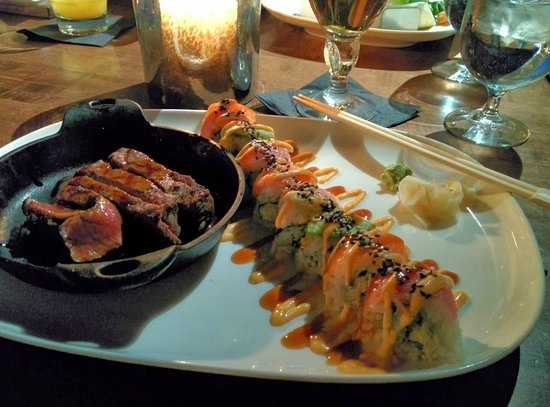 JOEY Eau Claire: Steak and sushi. Amazing!