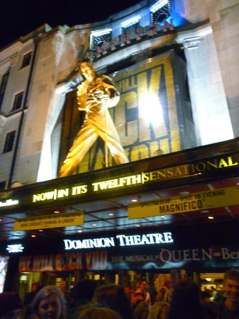 Dominion Theatre~We Will Rock You