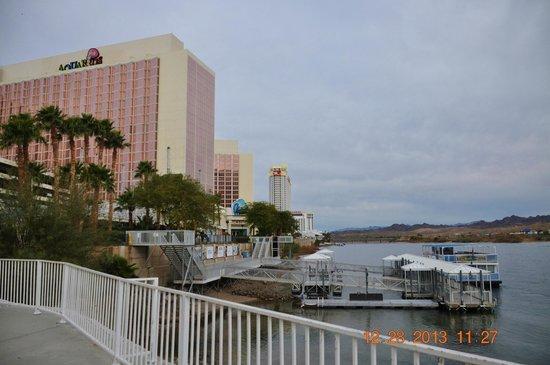 Aquarius Casino Resort: River walk