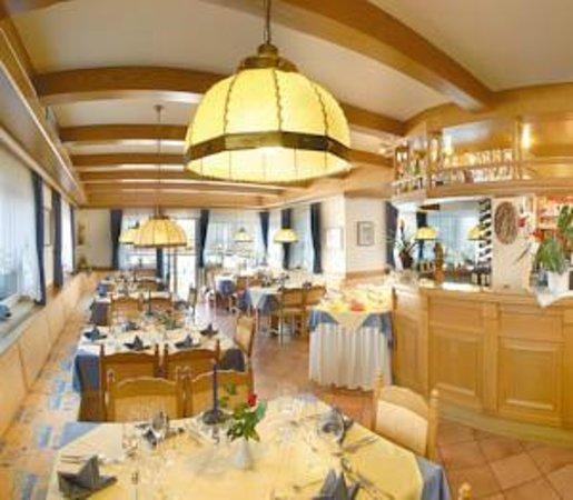 Pension Aurora: Interno sala da pranzo