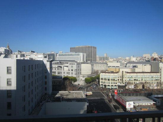 Holiday Inn Civic Center (San Francisco): View to the north.